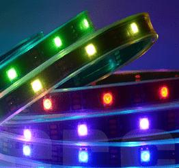 Tiras LED impermeables