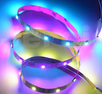 Tiras LED inteligentes