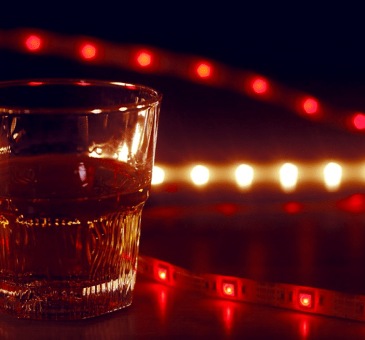 Tiras LED rojas