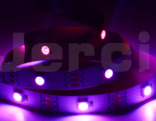 Tiras LED ultravioleta