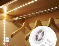 tira LED armario