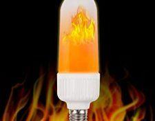 bombillas led efecto fuego